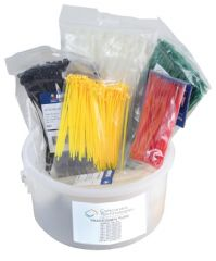 PRO POWER ACTKIT10-1000  Cable Tie Kit 1000 Pce